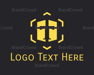 Memorable - Hexagonal Letter T logo design