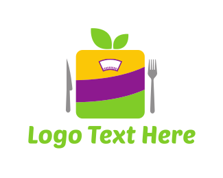 Weight Loss - Healthy Diet logo design