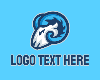 Esport - Ram Head Esport logo design