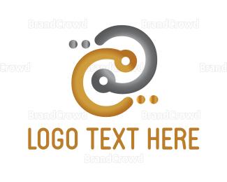 Connection - Gold & Silver Connection logo design