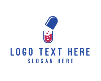 Lab - Capsule Lab logo design