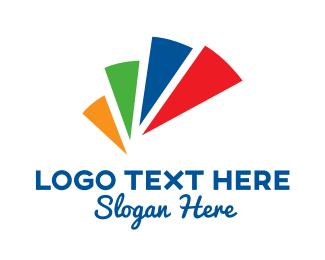 Color - Colored Media Symbol logo design