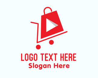 Shopping Cart - Youtube Shopping Cart logo design