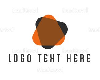 Video Player - Orange Play logo design