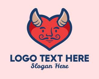 Marriage Counseling - Love Heart Devil  logo design