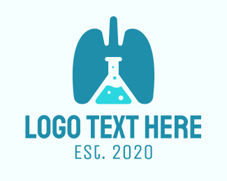 Research - Respiratory Lung Research Laboratory logo design
