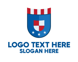 Election Campaign - National Shield Emblem  logo design