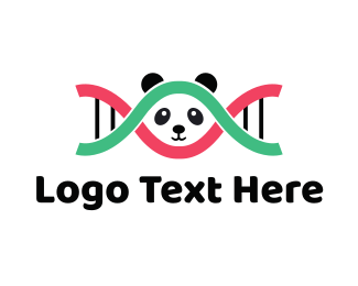 Panda - DNA Panda  logo design