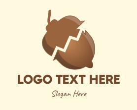 Financial - Nut Financial Growth logo design