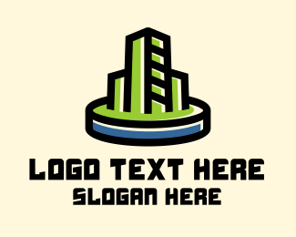 Business - Commercial Business Tower logo design