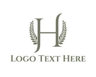 Olive - Letter H logo design