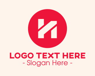 Storage - Commercial Letter H logo design