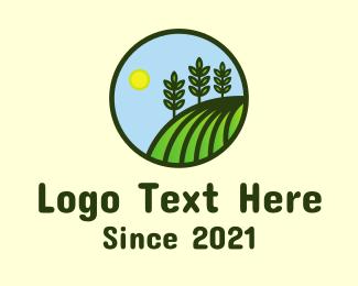 Agriculture - Agriculture Farm Emblem logo design