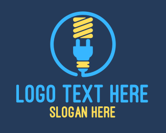 Lightbulb Plug Logo