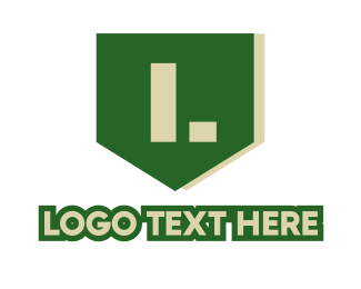 War - Military Green Emblem logo design