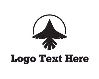 Usa - Black Raven logo design