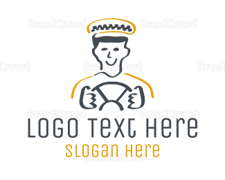 Black And Yellow - Taxi Driver logo design