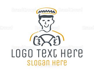 School Bus - Taxi Driver logo design