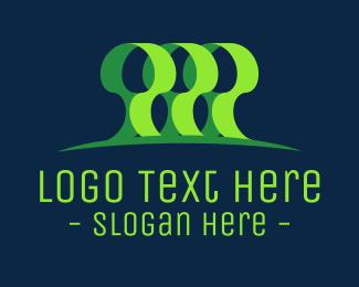 Environtment - Green Forest logo design