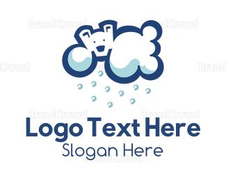 Rain - Polar Cloud logo design