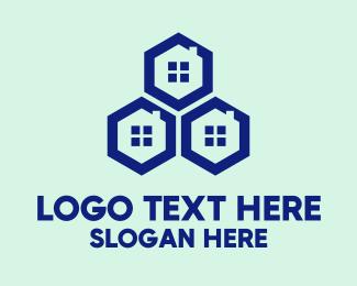 Windows - Blue Hexagon Windows logo design