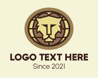 Wildlife Conservation - Global Lion Conservation logo design