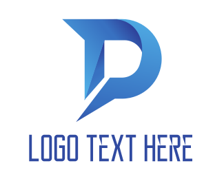 Name - Blue Shark D logo design