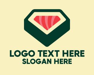 Sushi - Sushi Roll Restaurant logo design