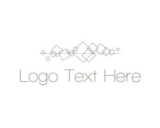 Dance - Minimalist Squares logo design