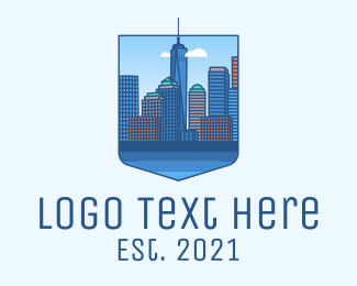 Chicago - New York City Metropolis logo design