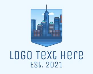 New York - New York City Metropolis logo design