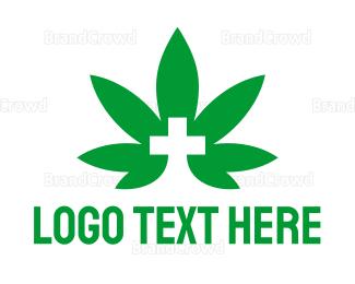 Cbd - Medical Marijuana logo design