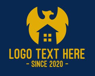 Apartment - Phoenix House Apartment logo design