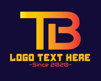 Technology Monogram T & B Logo