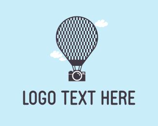 Camera & Ballon Logo