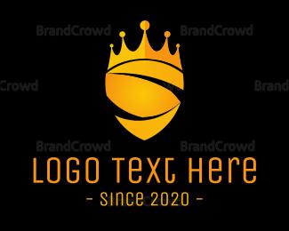 Tiara - Royal Shield logo design
