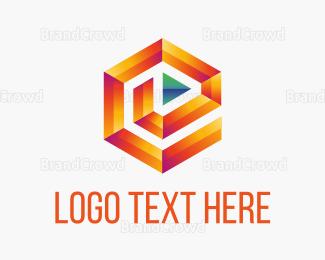 Media - Media Maze logo design