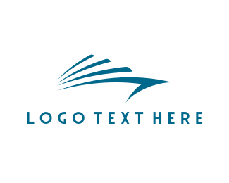 Cruise - Blue Yacht logo design