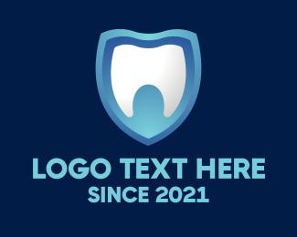 Teeth - Dental Teeth Shield logo design
