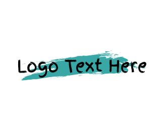 Art - Art Gallery Wordmark logo design
