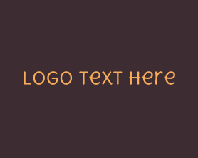 Nice - Friendly Handwritten Text logo design