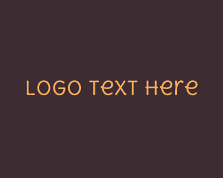 Hand Drawn - Friendly Handwritten Text logo design