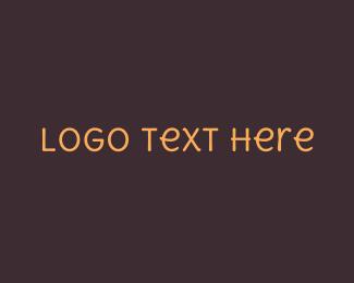 Type - Friendly Handwritten Text logo design