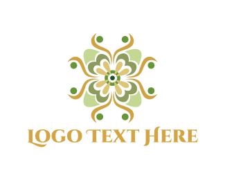 Emerald - Emerald Flower logo design