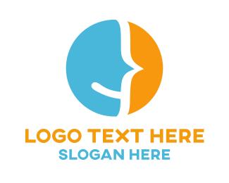 Psychologist - Smile Face logo design