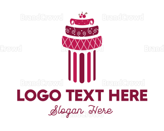 Party - Cherry Cake logo design