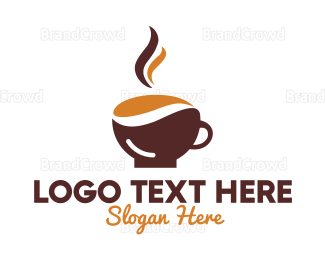 Cafe - Hot Cup Cafe logo design