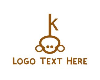 Chimp Key Logo