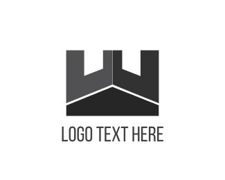 Monochrome - Black Tower logo design
