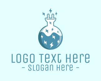 Ideas - Electric Lab Innovation Experiment logo design